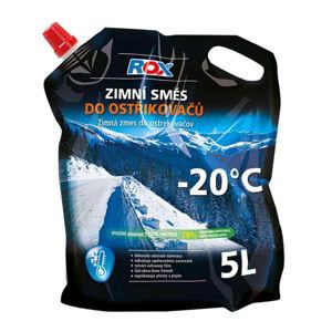 Zimní směs ROX do ostřikovačů (-20°C, 5l, stojací sáček)
