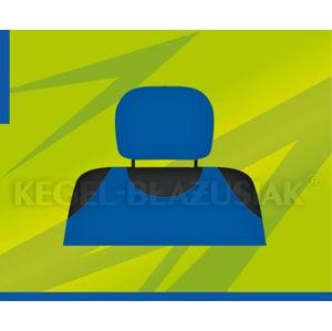 Potahy opěrek hlavy (světle modré)