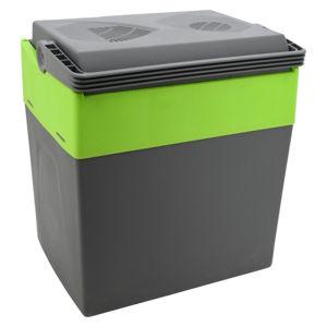 Autochladnička s ohřevem 30l (šedo-zelená, A++)