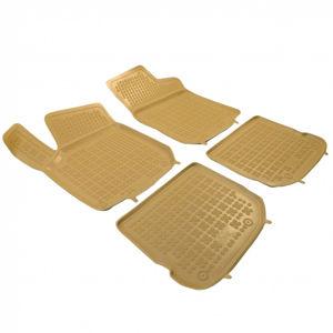 Gumové autokoberce Rezaw-Plast Seat Toledo 1999-2004 (béžové)
